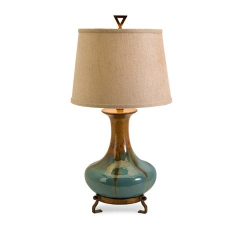 IMAX Worldwide Home - Kirkly Ceramic Table Lamp - 29561