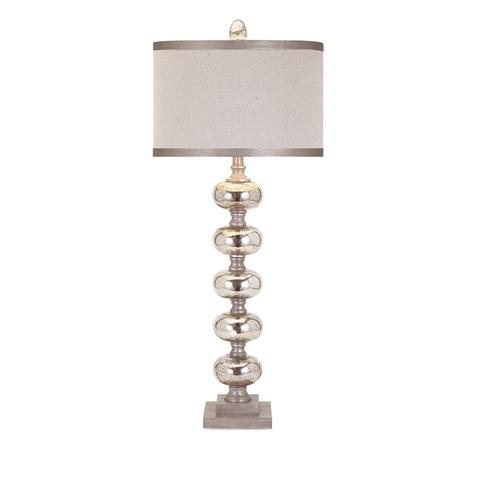 IMAX Worldwide Home - Ginger Mercury Glass Lamp - 31428