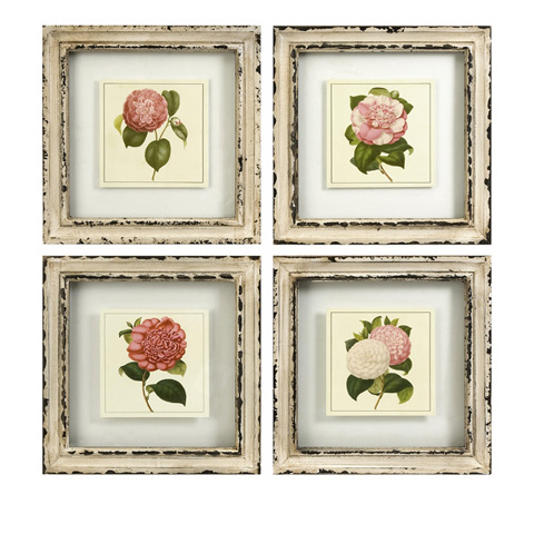 Image of Lynette Framed Artwork - Set of 4