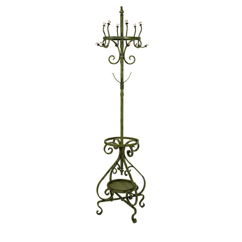 IMAX Worldwide Home - Louise Green Coat Rack - 47366