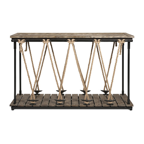 IMAX Worldwide Home - Astern Rope Console Table - 47535