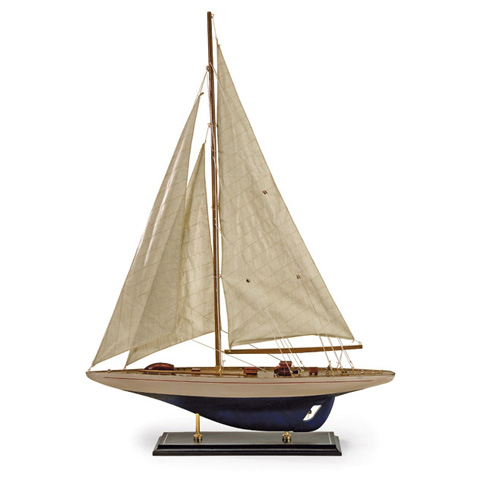 IMAX Worldwide Home - Colossal Antiqued Sailing Vessel - 50884