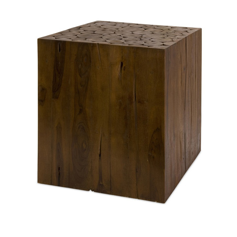 IMAX Worldwide Home - Zatana Teak Wood Side Table - 51376