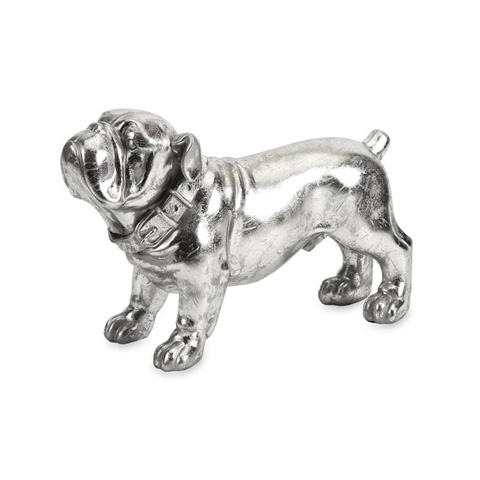 IMAX Worldwide Home - Maximus Stick Silver Dog Statue - 53061