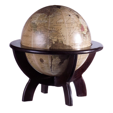 IMAX Worldwide Home - Globe on Stand - 5425