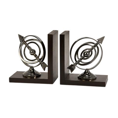 IMAX Worldwide Home - Calisto Armillary Bookends - 60071