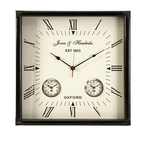 IMAX Worldwide Home - Worldtimer Wall Clock - 60087