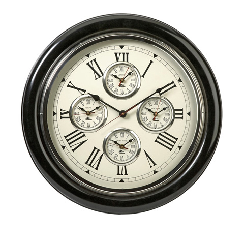 IMAX Worldwide Home - Five Country Wall Clock - 60105