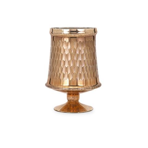 IMAX Worldwide Home - Lydia Copper Glass Pedestal - Small - 62191