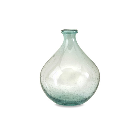 IMAX Worldwide Home - Amadour Small Bubble Glass Bottle - 63024