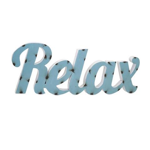 IMAX Worldwide Home - Relax Metal Wall Decor - 65360