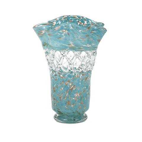 IMAX Worldwide Home - Ithaca Web Glass Vase - 65435
