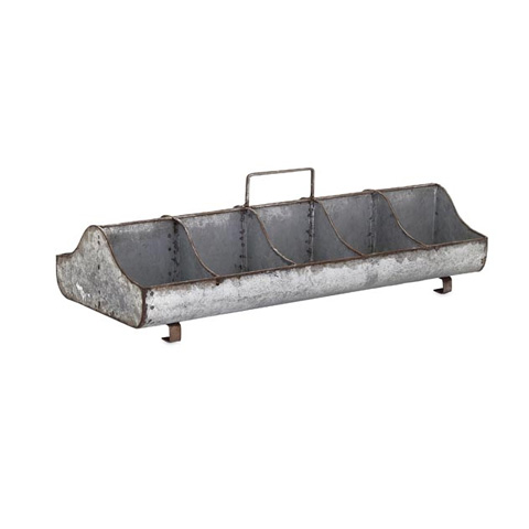 IMAX Worldwide Home - Lorren Galvanized Organizer - 65456