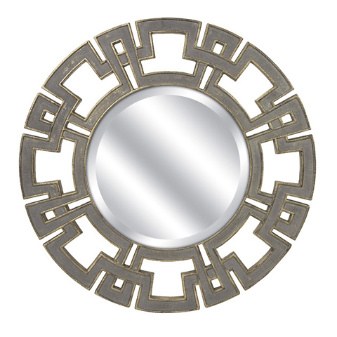 IMAX Worldwide Home - CKI Gustave Round Wall Mirror - 70374