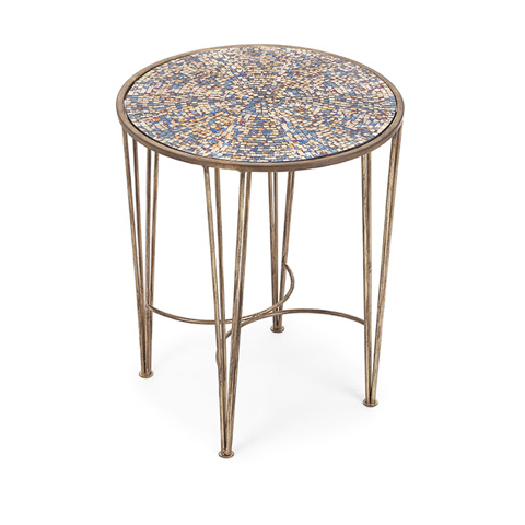 IMAX Worldwide Home - Carlie Mosaic Accent Table - 71789