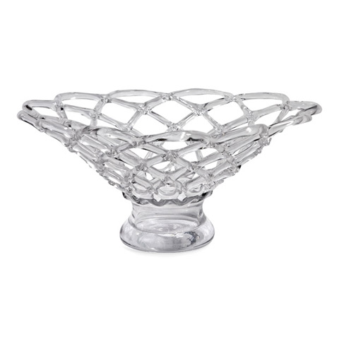 IMAX Worldwide Home - Large Glass Web Bowl - 73000