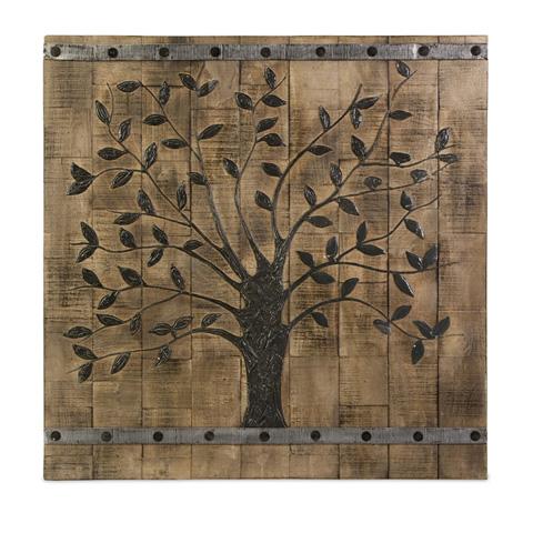 IMAX Worldwide Home - Tree Of Life Wood Wall Panel - 73075
