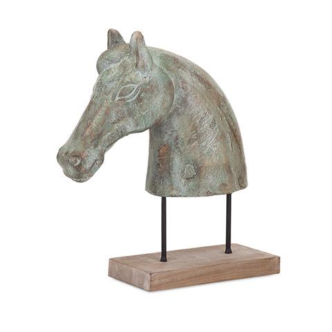 IMAX Worldwide Home - Dayo Horse Bust - 73387