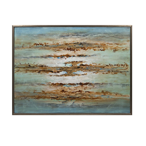 IMAX Worldwide Home - Illusion Framed Oil Painting - 76232