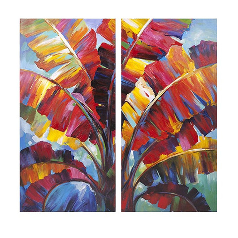 IMAX Worldwide Home - Tropicali Oil Painting - 76269