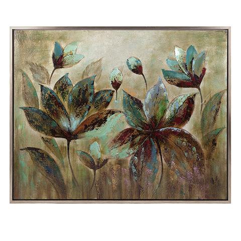 IMAX Worldwide Home - Fragrant Bloom Framed Oil Painting - 76283