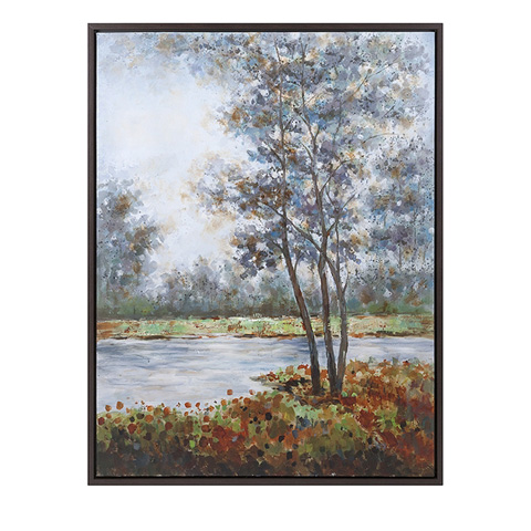 IMAX Worldwide Home - Natural Creation Framed Oil Painting - 76286