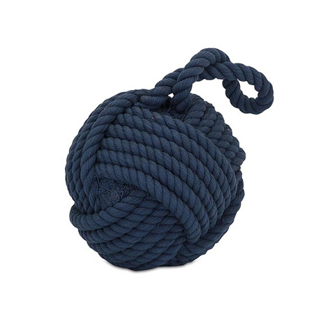 IMAX Worldwide Home - Hauer Blue Nautical Rope Ball - 81409
