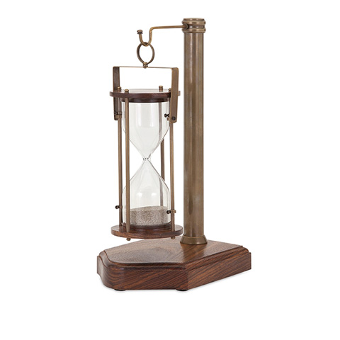 IMAX Worldwide Home - Beth Kushnick Sand Timer with Stand - 81420
