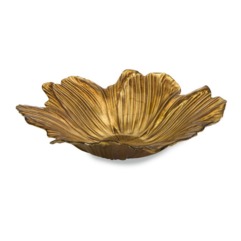 IMAX Worldwide Home - Marquette Floral Glass Bowl - 83111
