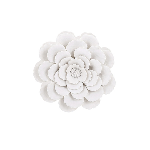 IMAX Worldwide Home - Evington Small Porcelain Wall Flower - 83333