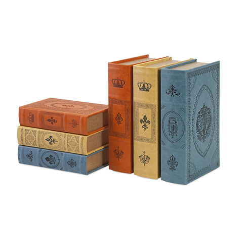 IMAX Worldwide Home - Potter Book Boxes - Set of 6 - 83510-6