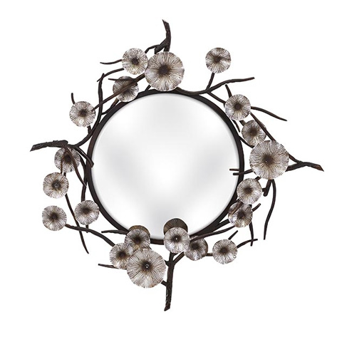 IMAX Worldwide Home - Morning Bloom Mirror - 85822
