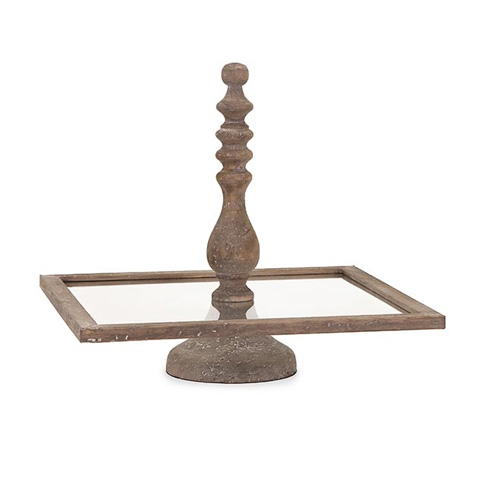 IMAX Worldwide Home - Glover Square Cake Stand - 86389