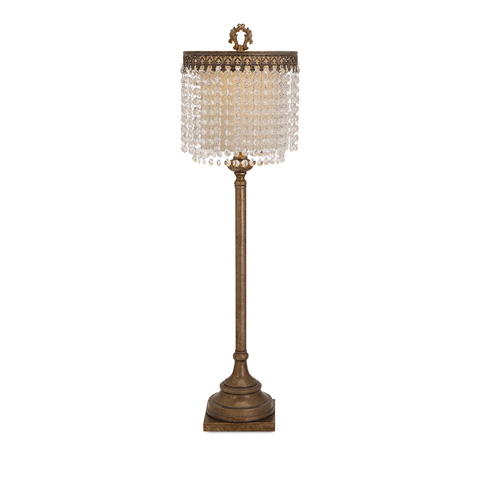 Image of Maeveen Crystal Beaded Table Lamp