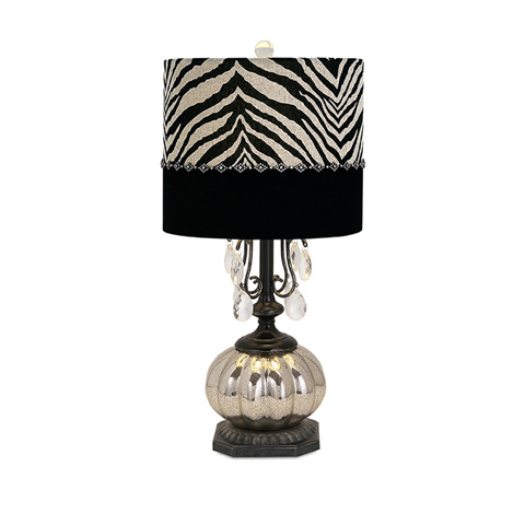 IMAX Worldwide Home - Jeanetta Glass Table Lamp - 86619