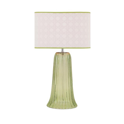 Image of Palm Beach Glass Lamp