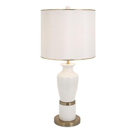 IMAX Worldwide Home - Beth Kushnick Prestine Ceramic Lamp - 86630