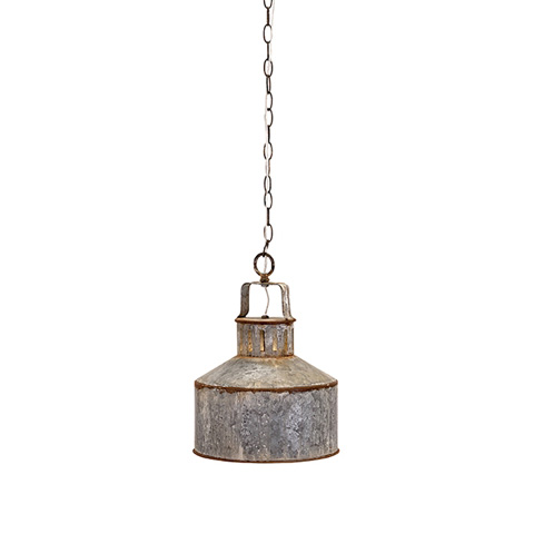 IMAX Worldwide Home - George Galvanized Pendant Light - 89382