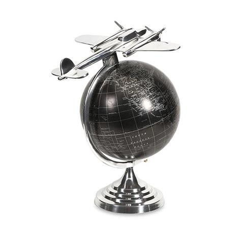 IMAX Worldwide Home - Hadwin Large Airplane Globe - 89418