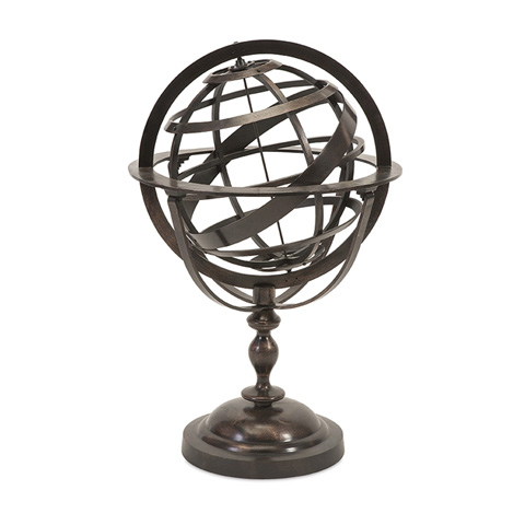 IMAX Worldwide Home - Alexander Metal Globe - 89439