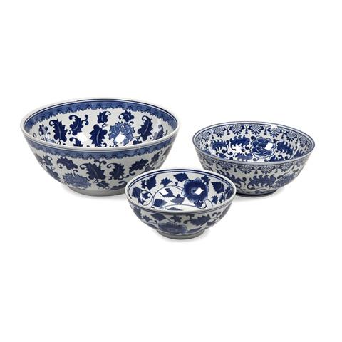 IMAX Worldwide Home - Tollmache Bowls - Set of 3 - 89831-3
