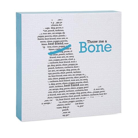 IMAX Worldwide Home - Throw Me A Bone Wall Decor - 96401