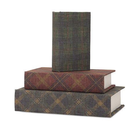 IMAX Worldwide Home - Ski Lodge Book Boxes - Set of 3 - 96421-3