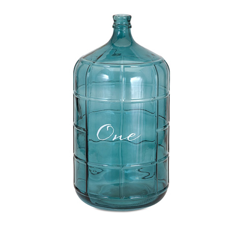 IMAX Worldwide Home - Ella Elaine Blue Large Glass Jug - 96450