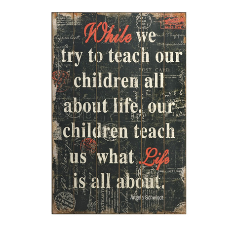 IMAX Worldwide Home - What Life Is About Wall Decor - 97091