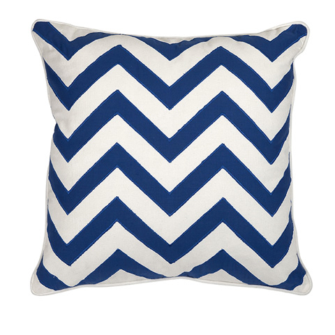 IMAX Worldwide Home - Essentials Marine Blue Pillow - 97302