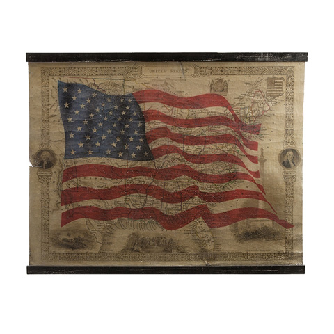 IMAX Worldwide Home - United States Of America Wall Décor - 97307