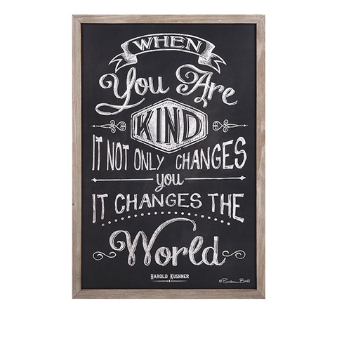 IMAX Worldwide Home - Kindness Changes The World Wall Decor - 97317