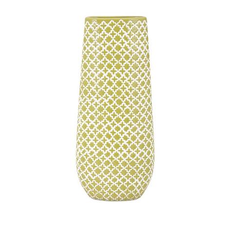 IMAX Worldwide Home - Sarina Graphic Vase - 25322
