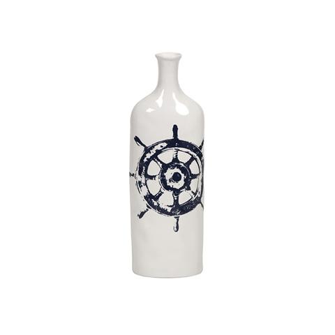 IMAX Worldwide Home - Haines Nautical Steer Vase - 53091